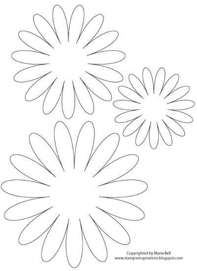 Best Templates Images On   Paper Flowers Templates
