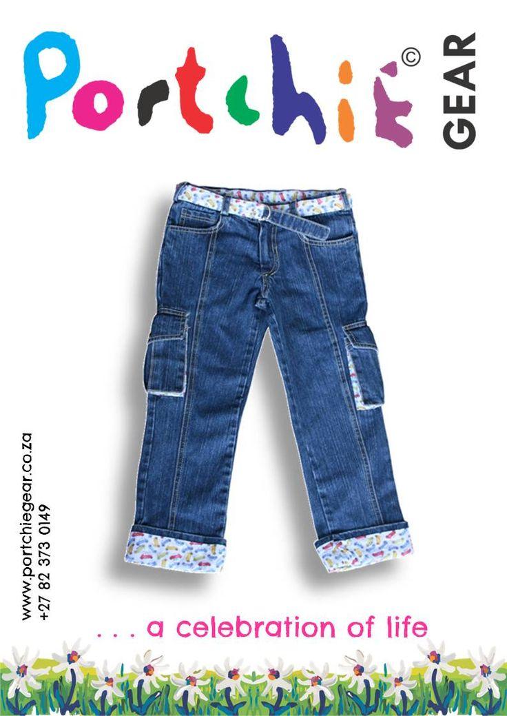 #Boys #Denim #Cargo #Jeans by PORTCHIE GEAR  www.portchiegear.co.za #portchiegear