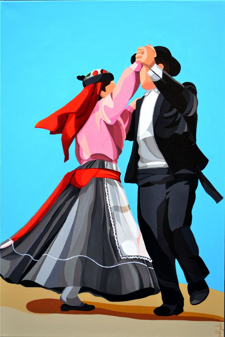 Dancers I - Acrylic - 24''x36''