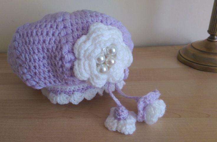 hand made hat , toddler, baby , chrochet hat, by SmallworldByAnna on Etsy