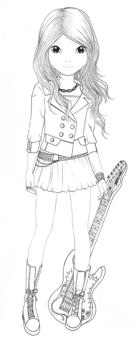 Avril Blanc By Aya Ichigo Kleurplaten Kleuren Patronen