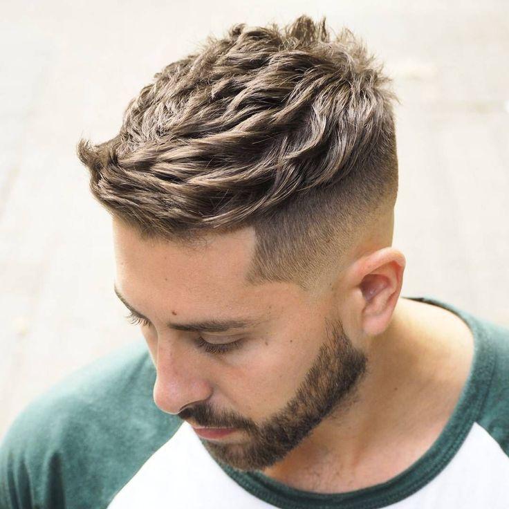 ambarberia short quiff haircut for men