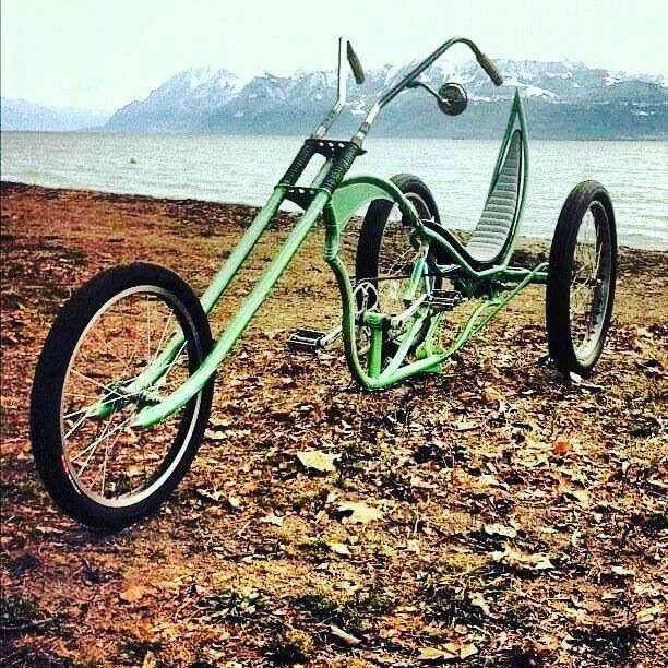 #trike #kustom #bicycle #custombicycle #customcycle