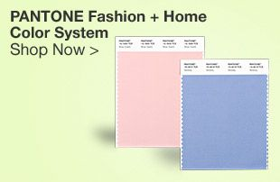 Pantone Fashion. Home & Interiors TCX Swatch Cards.