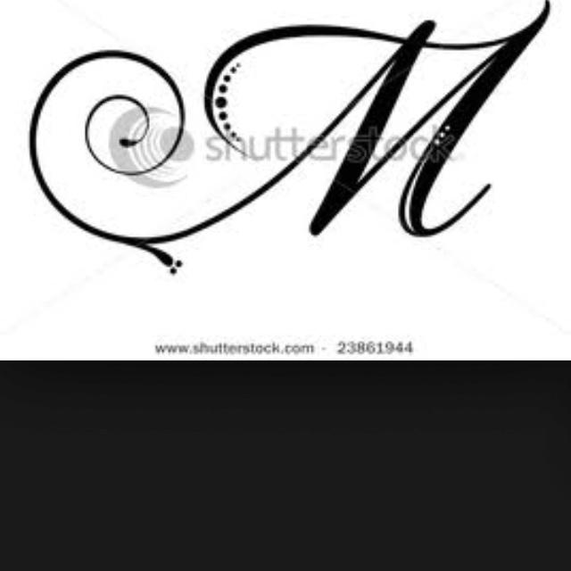 Tattoo Initial Tattoo Ideas Tattoos M Tattoos Infinity Tattoos