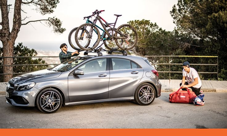 You don't need a towbar to take advantage of our cycle carriers and begin your next adventure!