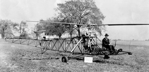 1889 #IgorSikorsky #American #Aviation #Engineer develop 1st #Helicopter #AirCraft #Sikorsky