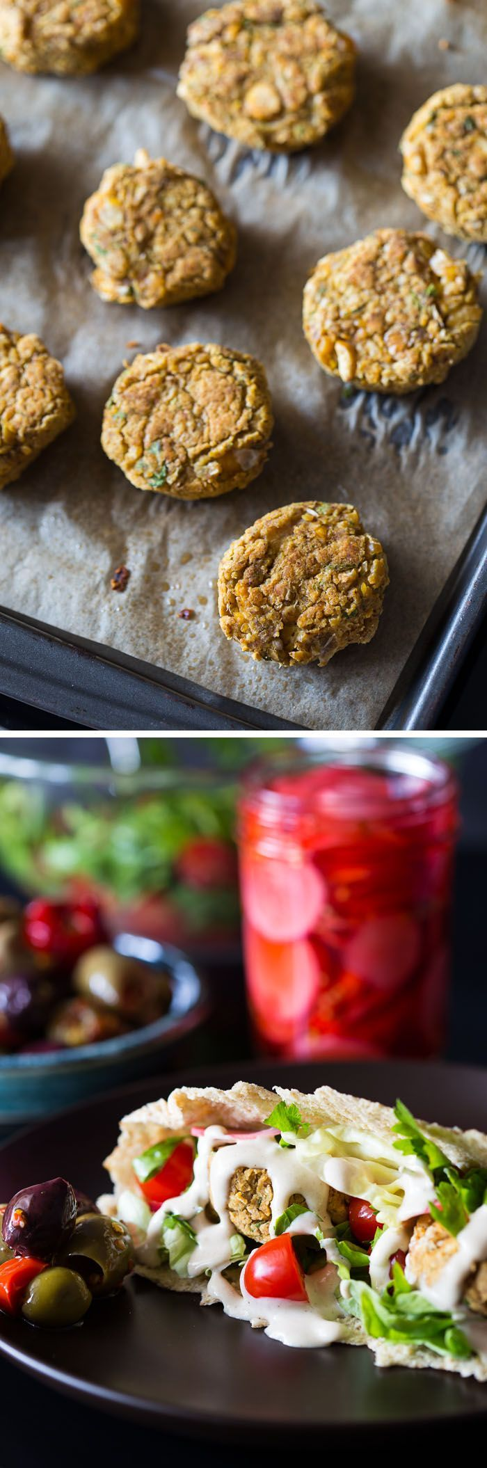 Blue apron falafel - A Healthy Delicious Vegan Weeknight Dinner Recipe For Fully Loaded Baked Falafel Pita