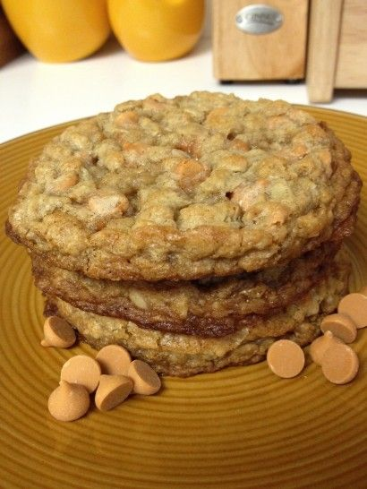 Brandon's Favorite!  Oatmeal butterscotch cookies