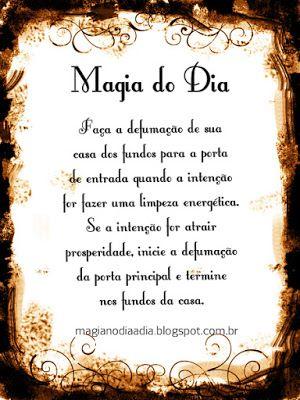 Magia no Dia a Dia: Magia do Dia: Defumação http://magianodiaadia.blogspot.com.br/