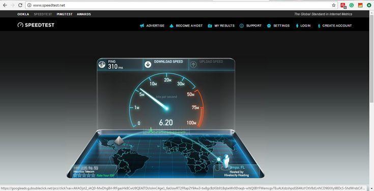 Top Connection Speed Tests: Speedtest.net