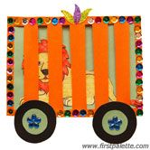 circus crafts for kids | Step 12 Circus Train craft