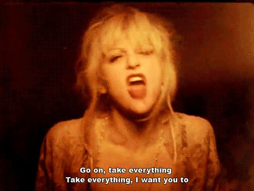 But that's not all…   9 Times Courtney Love Was Actually A Mythological Creature