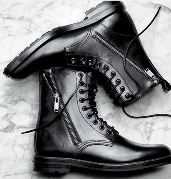62ec052868f Details about Handmade Men black Ankle boots, Men black Lace up ...