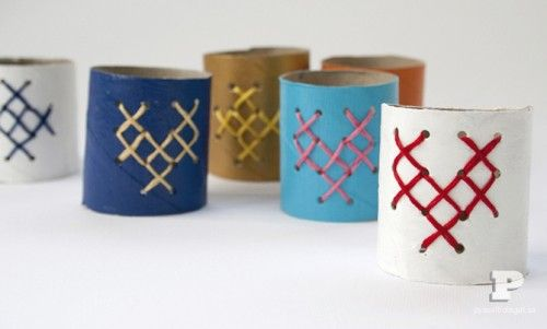 Easy DIY Napkin Rings To Make With Your Kids | Shelterness