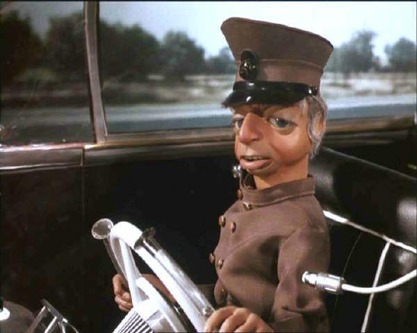 Lady Penelope's chauffeur Parker.