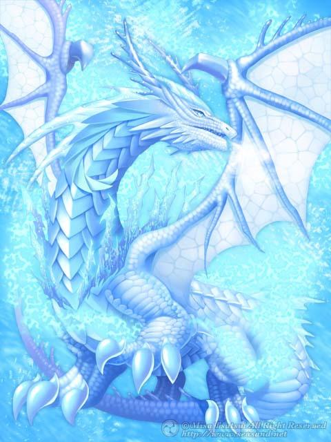 Ice dragon, dragon de hielo