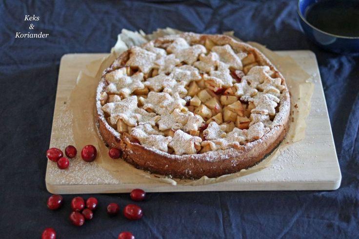 {Gastbeitrag} Winterlicher Applepie mit Cranberrys