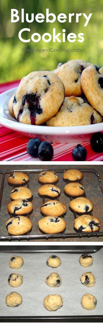 Blueberry Cookies Recipe