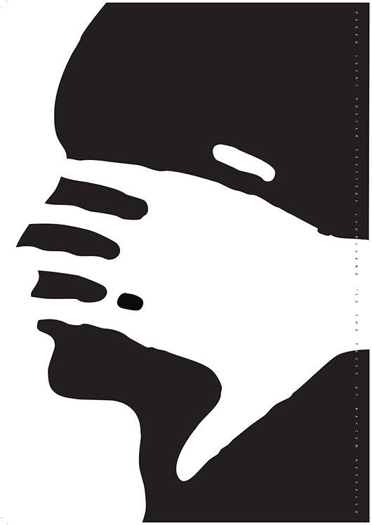 """Loiri Solo La Paz"" Exhibition. Posters from Pekka Loiri, Finland. Bienal del Cartel Bolivia BICeBé® 2015"