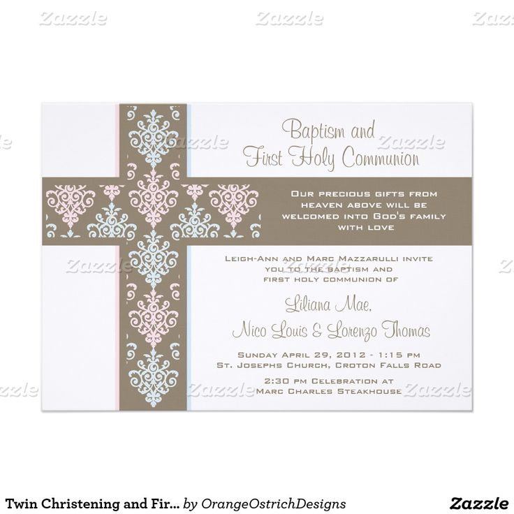 45e29ba660c5d32622543e00743a134f 17 best images about first communion on pinterest overlays,First Communion Invitations For Boy Girl Twins