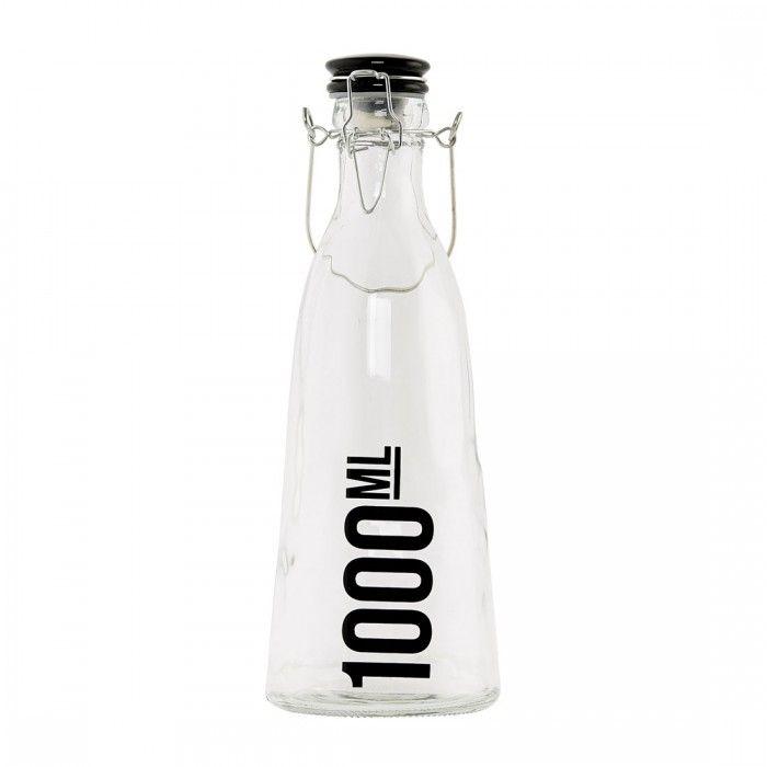 Bottiglia in vetro 1000 ml