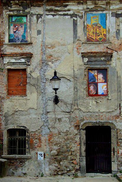 (via Bratislava urban art, a photo from Bratislavsky, West   TrekEarth) Bratislava, Slovakia