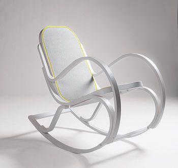 Wooden Frame Rocking Chair