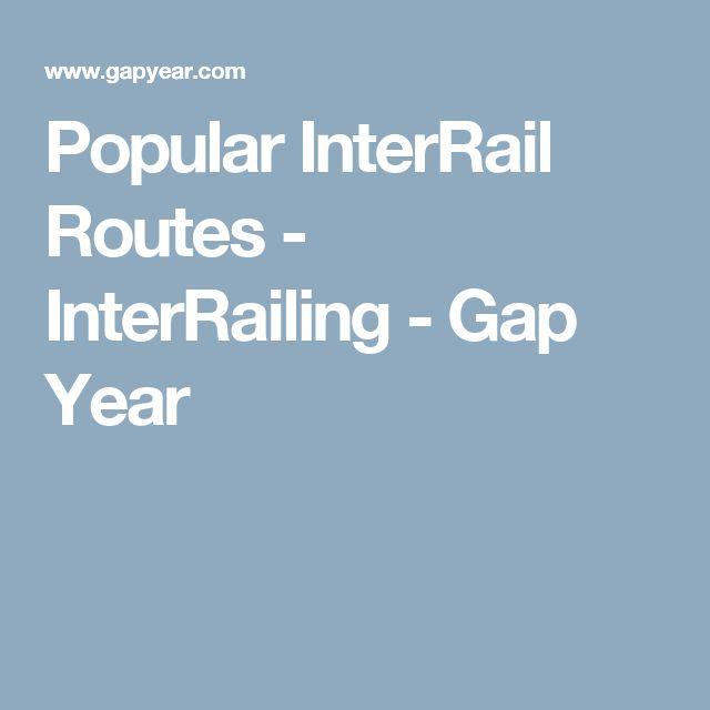 Popular InterRail Routes - InterRailing - Gap Year