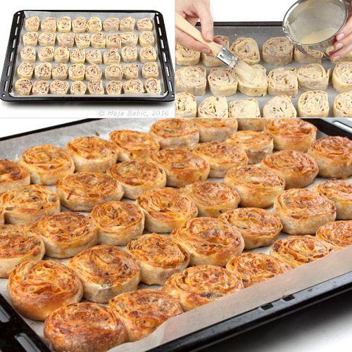 Provereni recepti. Cooks and Bakes: Mini pita-pizze