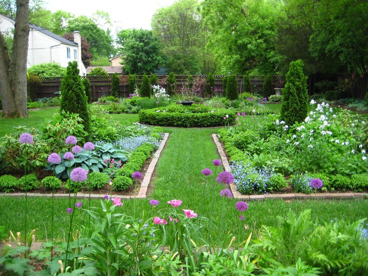 Small vegetable garden design ideas - August Garden The June Garden Progress Report Pictures Of The Garden