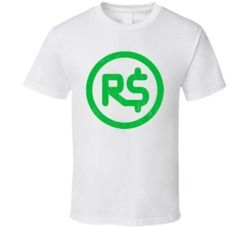 Roblox Robux Money Gamer Online Social Network Game Gaming App Icon Logo Fan T Shirt