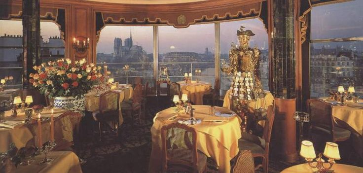 Jules Verne Restaurant Paris Pinterest