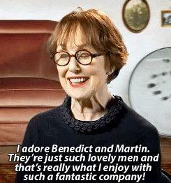 Una Stubbs <3 on Ben and Martin