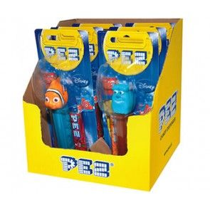 Pez Best of Pixar 6pk