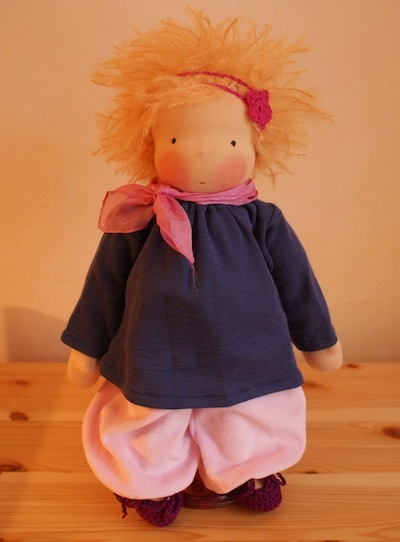 lovely crazy hair style and tunic style clothing.  by Mariengold