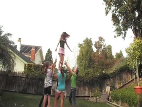 EHS Cheer Stunt Group - YouTube