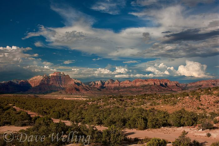 Hurricane UT Weather   ... in this view from a backcountry scenic byway near hurricane utah