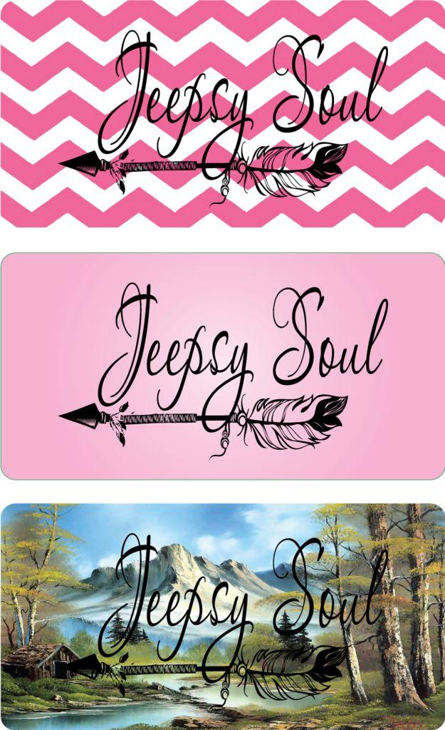 Jeepsy Soul License Plates