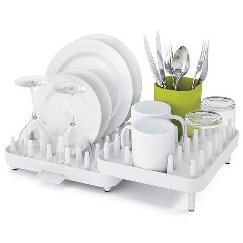 Уникальная сушилка, состоящая из трех отделений, поместится на любой кухне: это настоящий трансформер, ведь ее компоненты можно перемещать друг относительно друга, адаптируя под заданное пространство. Благодаря специальным зубцам можно размещать на ней тарелки, чашки, миски в любой комбинации. Плюс в комплекте идет специальная подставка для столовых приборов. Стекающая с посуды вода отводится в специальный поддон, просто разместите сушилку рядом с раковиной. Благодаря нескользящему…