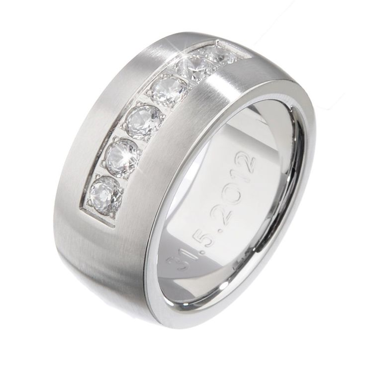 Edler Ring mit Gravur - Geschenke von Geschenkidee