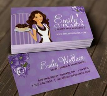 78 best customizable business cards by colourful designs inc images sugar artist business cards reheart Choice Image