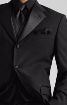Tux for my man, All black