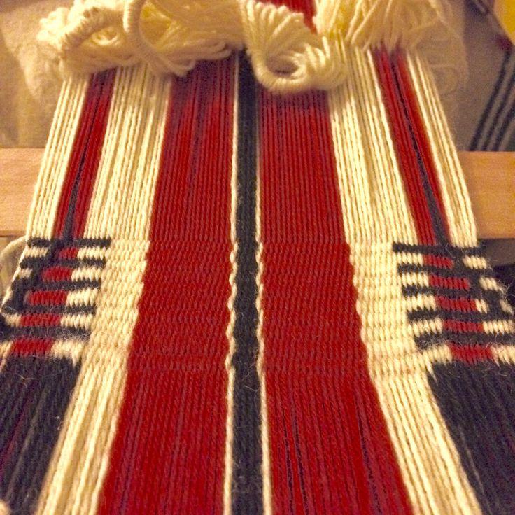 Witral Mapuche #witral #telarmapuche #artetextil #textilart