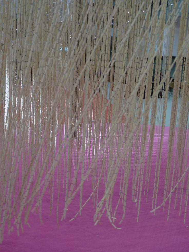 Transhitos 2009. Cortina cerámica. Estudio Entresitio