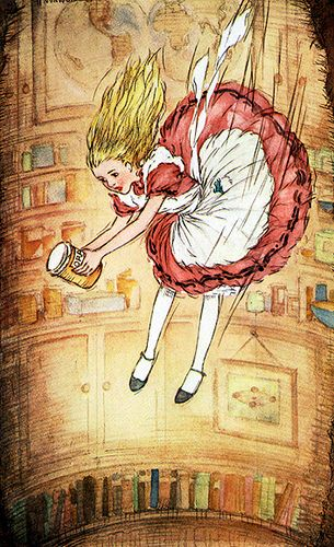 Alice in Wonderland by Suzee Que, via Flickr