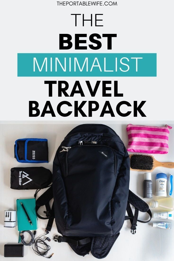 Fit what you need in this travel backpack. | BolsaMochilas