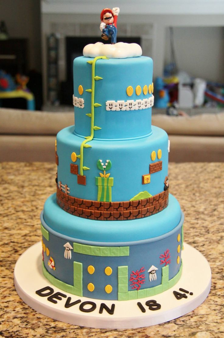 Best 25 Super Mario Cake Ideas On Pinterest Super Mario