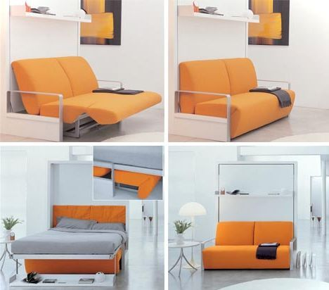 Couch Lounge And Bed In One
