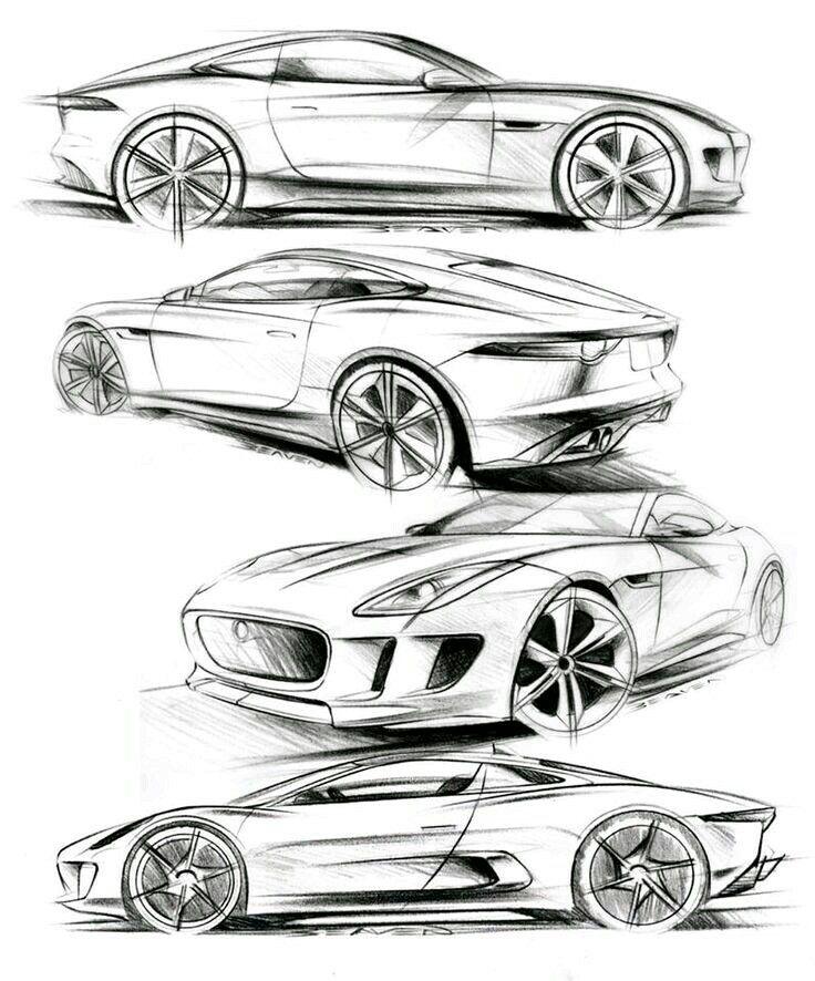 10 best cars images on pinterest cars autos and car design sketch Audi 2.7T matthew beaven s jaguar concept production pencil sketches f type coupe concept and concept